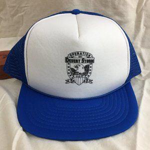 Operation Desert Storm Trucker Snap Back Hat Cap